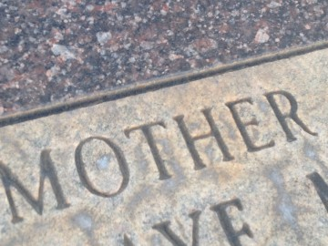 mother headstone