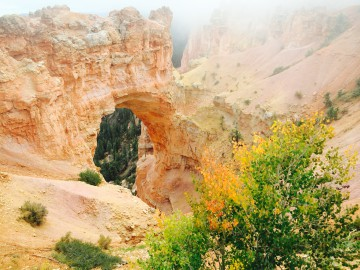 bryce arch in a cloud